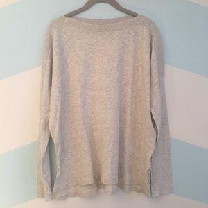 Vince Slub Cotton Boatneck Sweater